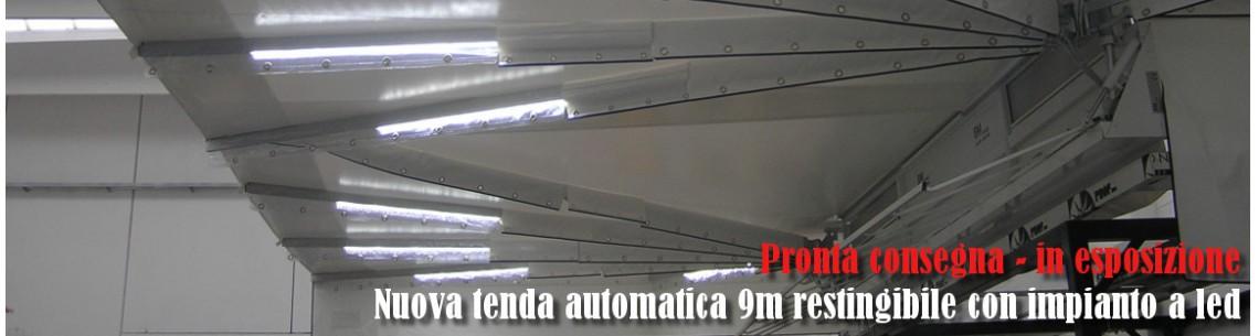esposizione tenda automatic a led