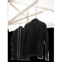 Scalette verticali espositive in filo metallico