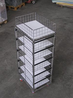 carrello cassettiera in acciaio inox chiuso